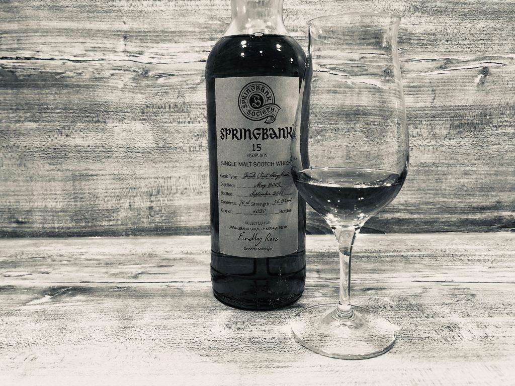 Springer und Port: Springbank Society Bottling 15 Jahre Port Finish