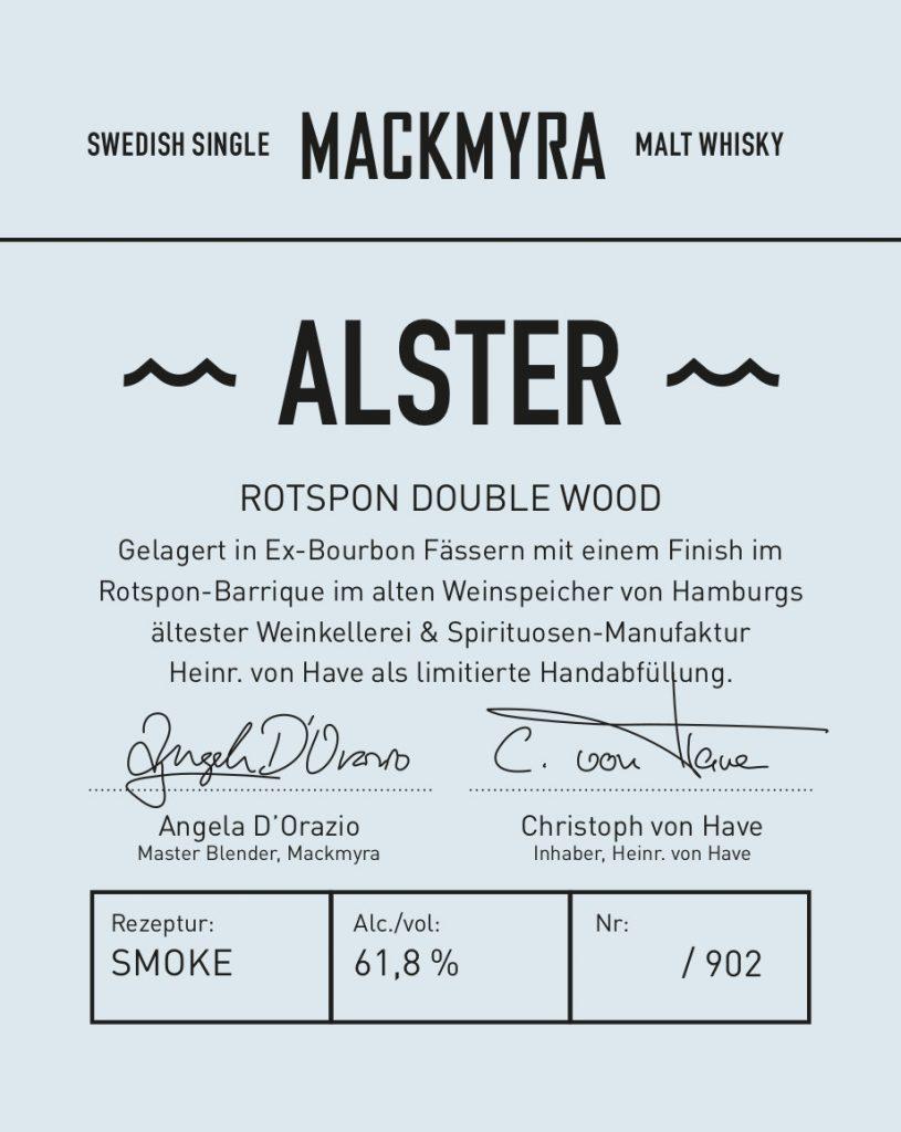 MACKMYRA Rotspon-Alster