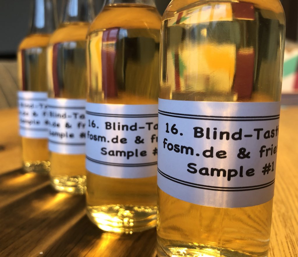 Blind Sample Challenge by fosm.de